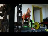 Татьяна Тарасевич (T-1001) тянет 99 кг (no lift). Собств. вес 56 кг. 20.12.17