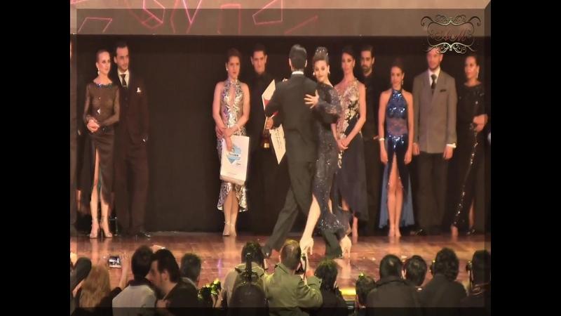 Mundial de Tango 2017 El baile de los Campeones mundiales Axel Arakaki, Agostina