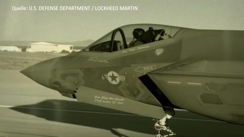 US-Militär veröffentlicht Video Testflug des F-35 Kampfjets