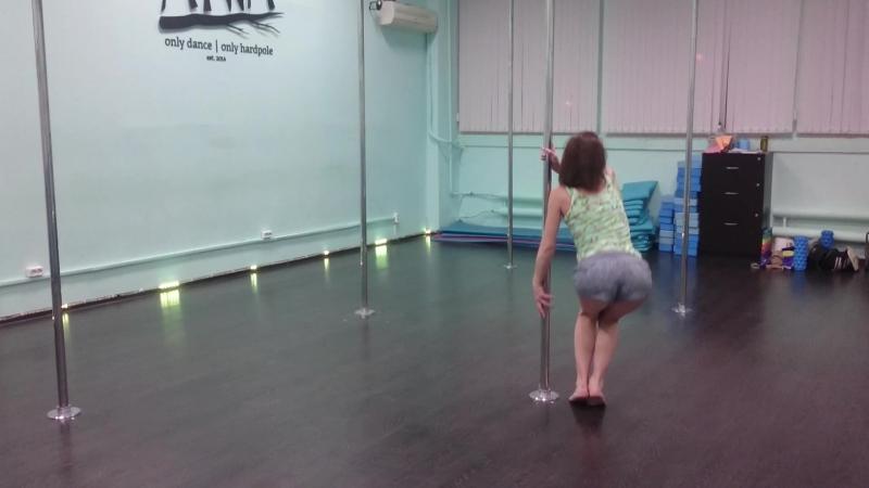 Маргарита, тренируем крутку