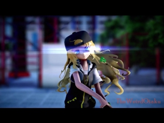 Touhou MMD Kagerou Daze - Marisa Kirisame