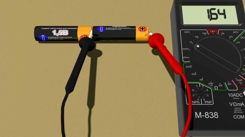 Как пользоваться мультиметром M838 или DT838 - YouTube