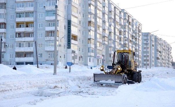 Уборка дорог в Усть-Илимске