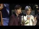 [CUT] 180111 Golden Disc Awards: Genie Popularuty Award @ EXO