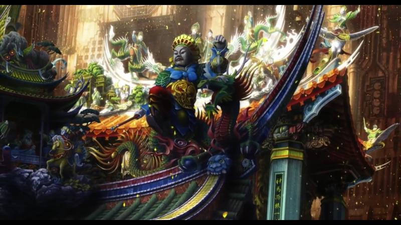 Призрак в доспехах 2 Невинность. Сцена китайского карнавала Ghost in the Shell 2 Innocence. Chinese Parade Scene