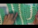 Вязание крючком, простые сапожки из трех частей. Способ №2. Видео урок для начин