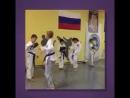 Тренировка команды по тхэквондо