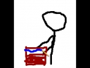 Как нарисовать слово почтальон