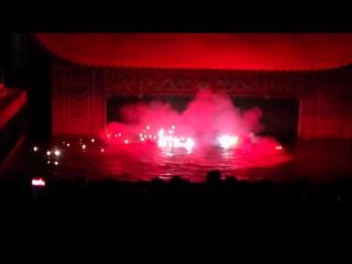 Танец Драконов. Кукольный театр на воде.