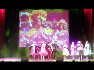 Куба рядом - вокальный анс. Русский стиль КГФ и анс. бального танца КТЦ Звездный.