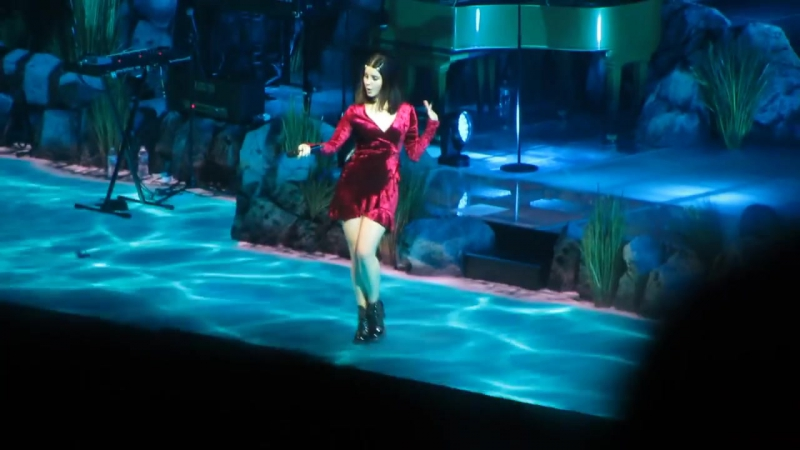 Lana Del Rey - Music To Watch Boys To (Live LA TO THE MOON TOUR Denver)