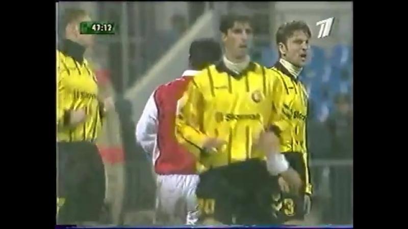 Кубок УЕФА 200001. Локомотив (Москва) — Интер (Словакия) - 10 (10).