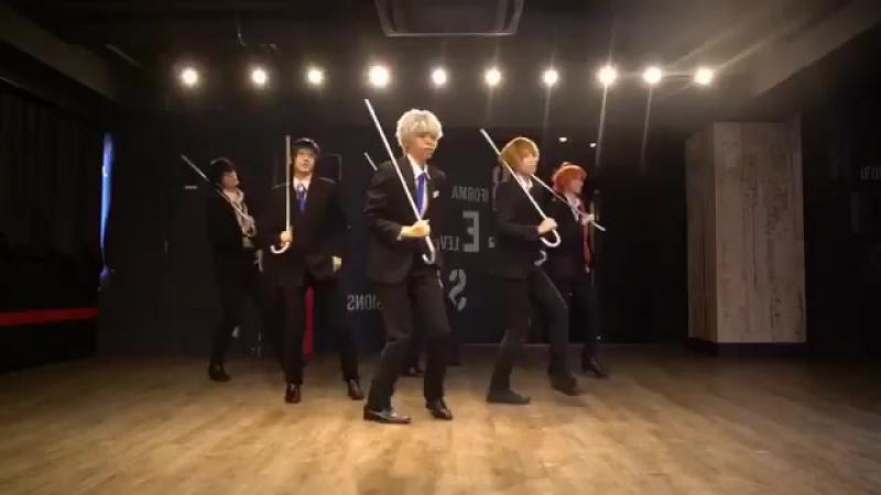 💭Such a film will soon rise Gintama. 🙇Gintoki / Will  🙇Hijikata / TARO 🙇Kagura / Hina Nogashira  🙇Shinpa/ Miwa