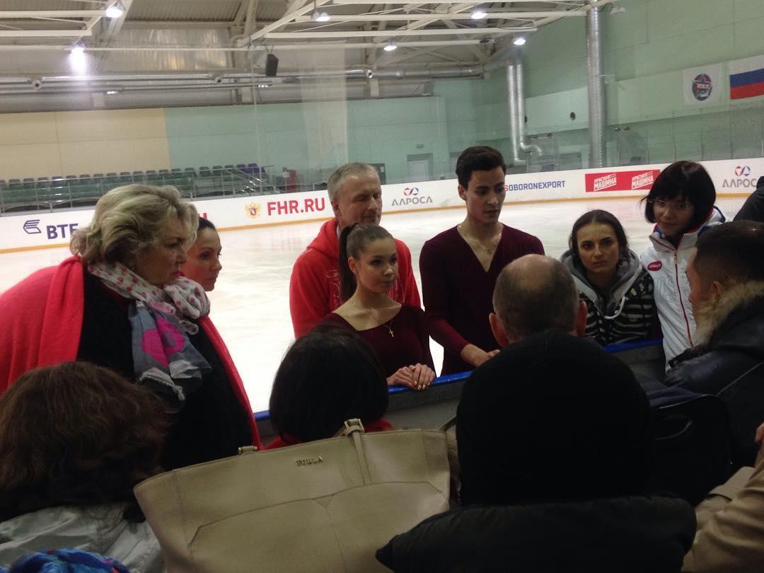 Анастасия Шпилевая - Григорий Смирнов/ танцы на льду - Страница 11 MsJ_bNXEFD0