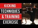 Wing Chun Kicking Techniques Training Exercise