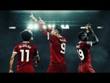 Sadio Mané, Mohamed Salah & Roberto Firmino | Fearless Trio • 2017