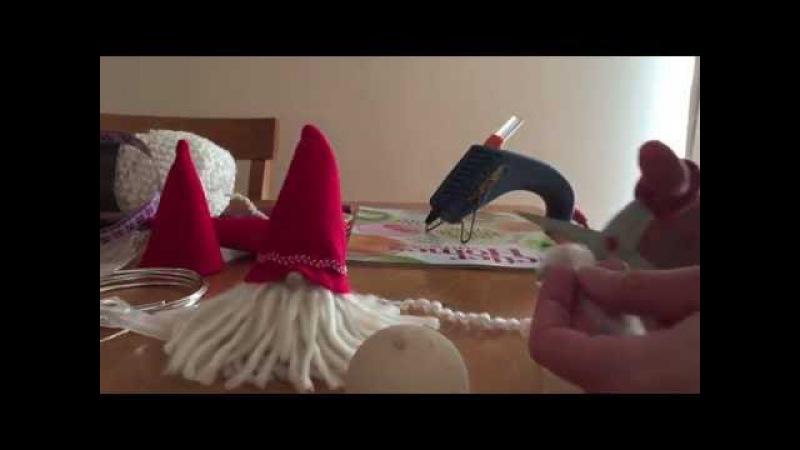 DIY Joulu Tonttu! Make your own Finnish Christmas Elf
