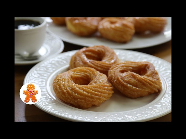 Французские Пончики ✧ French Crullers ✧ French Donuts (English Subtitles)