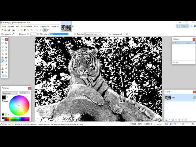 Paint.net. Урок 11 - Как преобразовать фото в карандашный рисунок, картину маслом, карт...