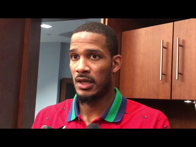 Trevor Ariza Postgame Interview | Raptors vs Rockets | November 14, 2017 | 2017-18 NBA Season