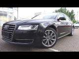 Автомобиль представительского класса Audi A8L Quattro. Обзор.