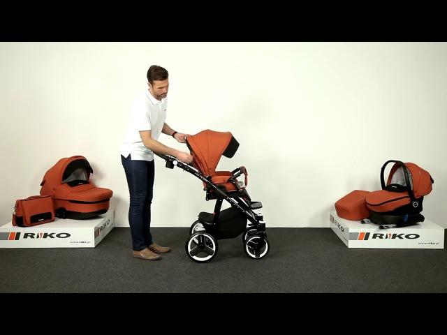 Детская коляска Riko Re-Flex (модель 2017 г.)