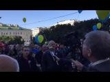 В Петербурге скандируют