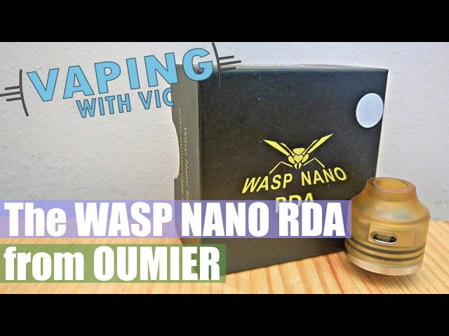 Oumier Wasp Nano RDA - A flavour punching little RDA