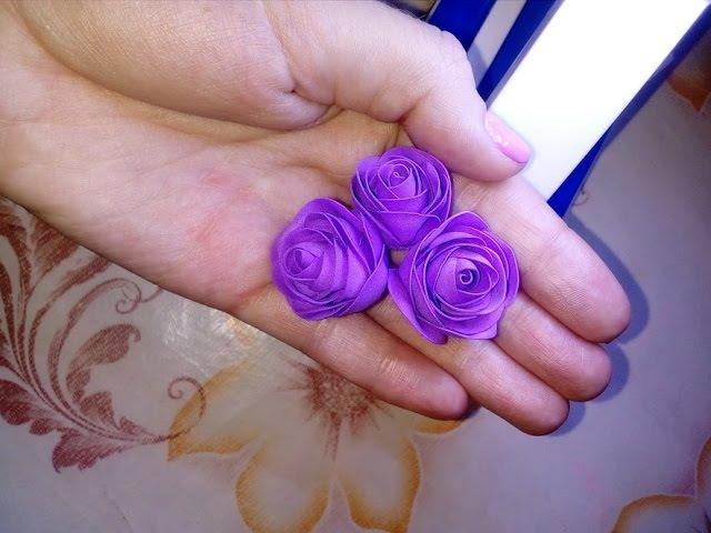 Лёгкие розы из фоамирана 0,5см