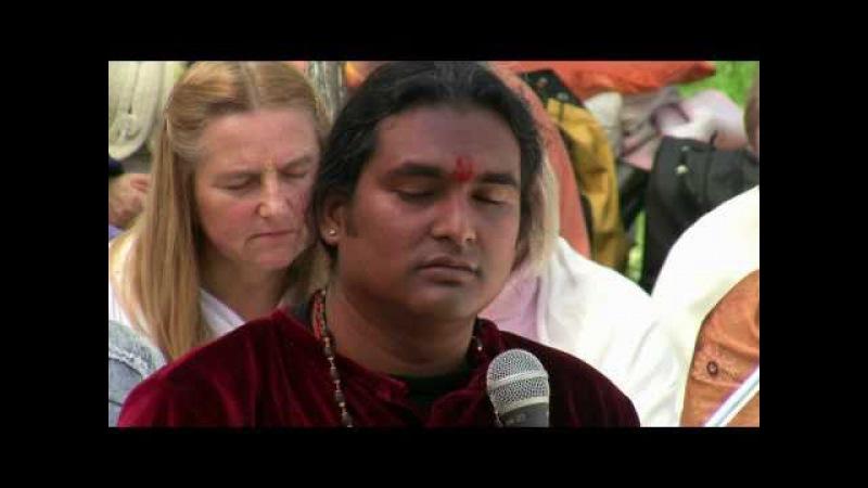 Gayatri Yagna with Sri Swami Vishwananda in Warsaw 2010