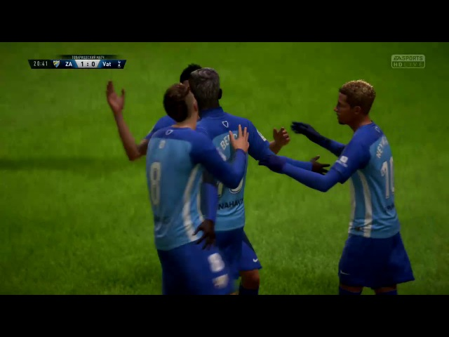 Zolotoy Apelsin vs Vatnik Crew RLXO FIFA 18 XBOX ONE