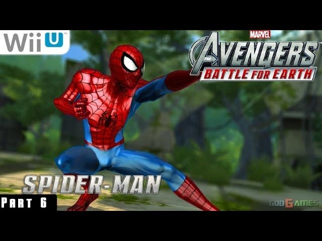 Marvel Avengers Battle for Earth - WiiU Gameplay 1080p part 6 (Unlocking characters)