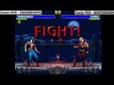 Night Wolf - Kano. Mortal Kombat CPU vs CPU. Cup IV. Round 1
