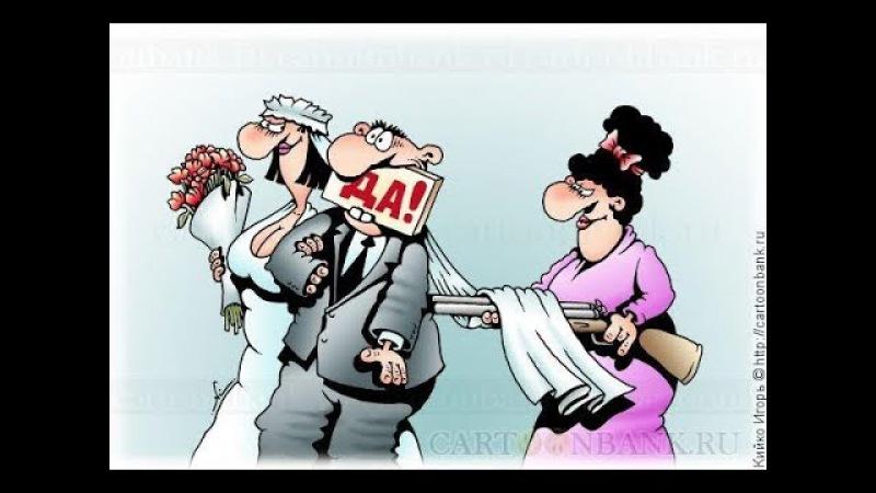 весёлые картинки и карикатуры про свадьбы