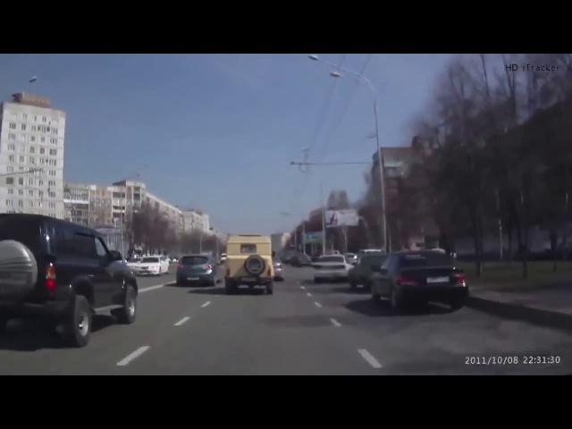 Страшная, ужасная авария в Новокузнецке с автомобилем и мотоциклистом !