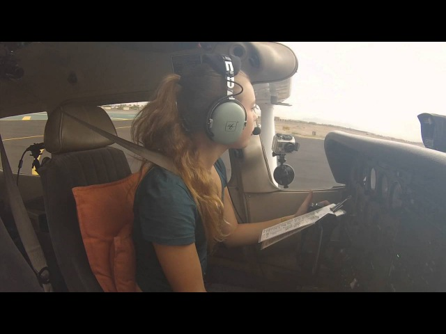 Private Pilot Flight Training : First Student Solo !!