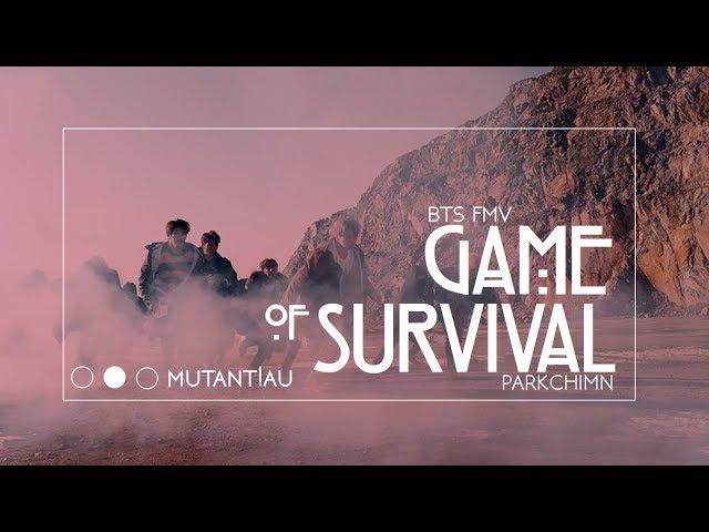 Bts game of survival [mutant!au]