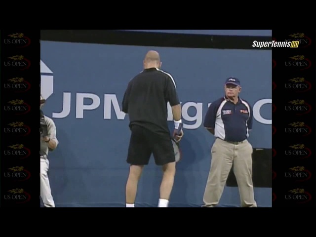 2001 US Open Sampras vs Agassi