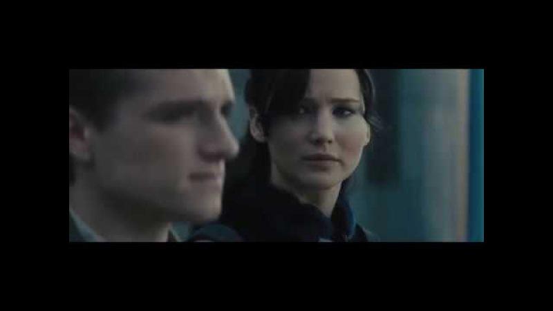 Katniss and Peeta -