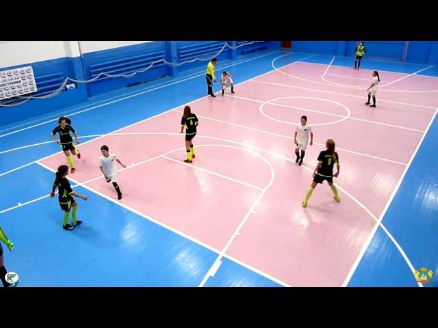 Спарт (Углич) - Пантера 6:3 Открытый Чемпионат Костромской области по мини-футболу среди женских команд (26.11.17)