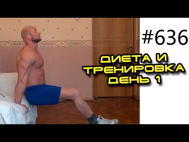 Тренировка для похудения в домашних условиях. Жиросжигающие упражнения. День №1.