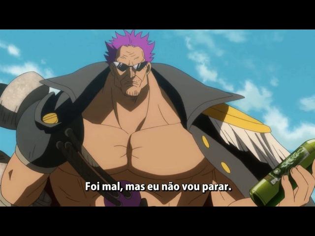 One Piece Filme Z Aokiji Kuzan Cantando
