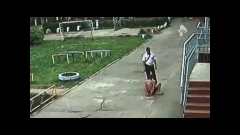 Дебошир легкоатлет из Кемерово не смог убежать от полицейских