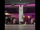 Такс, не судите строго???? это моя 3 тренировка в жизни и наше первое видео  с @missmari_g ❤❤❤ в ее новой студии @dancedynasty.c