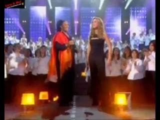 Jevetta Steele & Lara Fabian - Calling you (Les 500 Choristes, 18-11-2006)