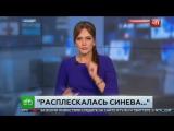 Расплескалась синева- пьяный десантник напал на корреспондента НТВ в прямом эфире