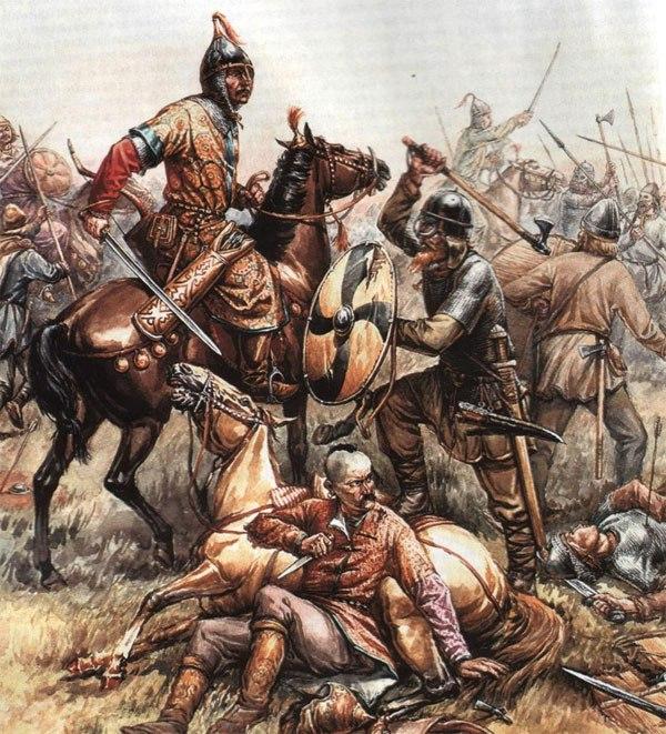 Битва русов и хазар
