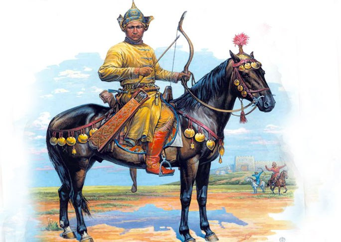 Лучник конницы хазар