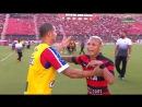 В матче чемпионата Бразилии было показано 9 красных карточек
