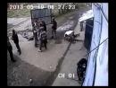 Скрытая камера, жестокая драка мужчин. Разборки, тяжелые